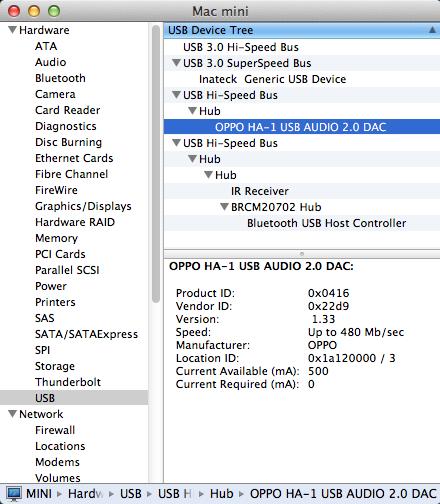 RE: Mac Mini USB Ports - AbeCollins - Computer Audio Asylum